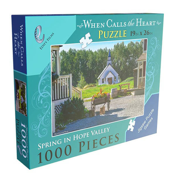 Spring in Hope Valley 1000 Piece puzzle