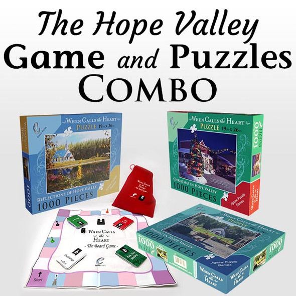 The Hope Valley Game and Puzzles Combo