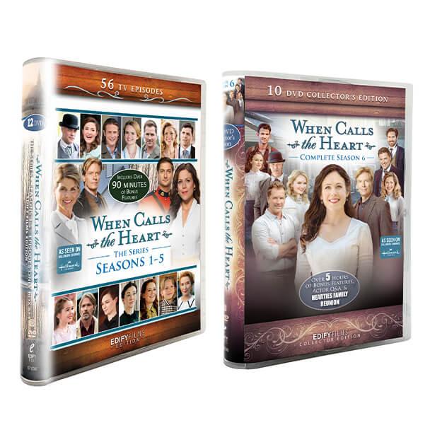 Season 1-5 Box Set and Season 6 Box Set Collector's Edition Bundle