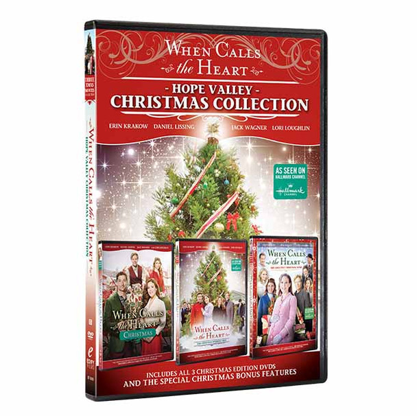 Hope Valley Christmas Collection - DVD Front Cover with spine