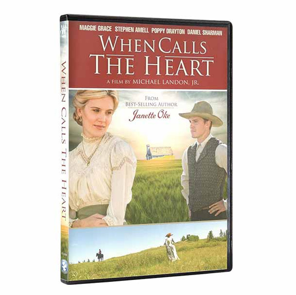 When Calls the Heart  Pilot (DVD) - front cover with spine