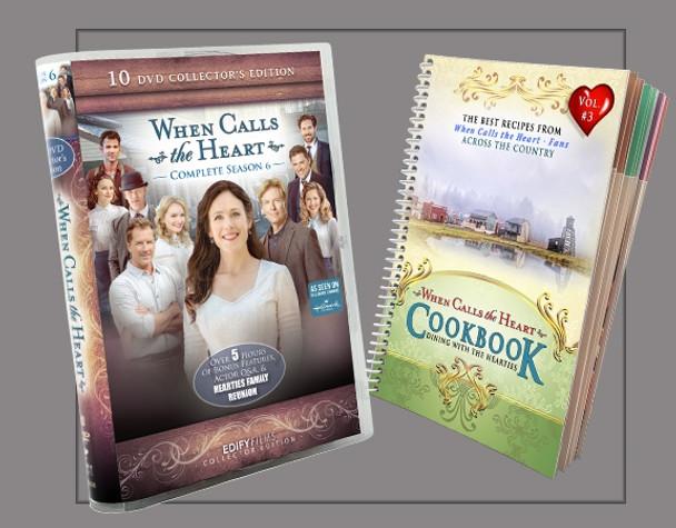 WCTH - Complete Season 6  and Cookbook (Bundle)