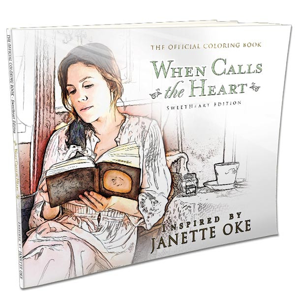 When Calls the Heart - SweetHeart Edition - Coloring Book