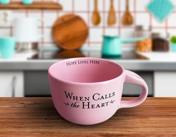 20oz. PINK - Large Coffee Cup - WCTH