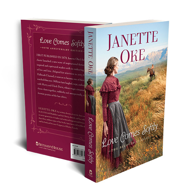 Love Comes Softly - 40th Anniversary Edition front and back covers