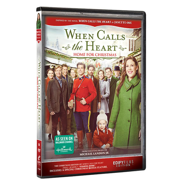 Home for Christmas - DVD front cover and Spine
