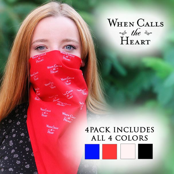 Bandana with the official When Calls the Heart logo