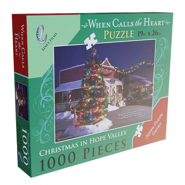 Christmas in Hope Valley 1000 piece puzzle