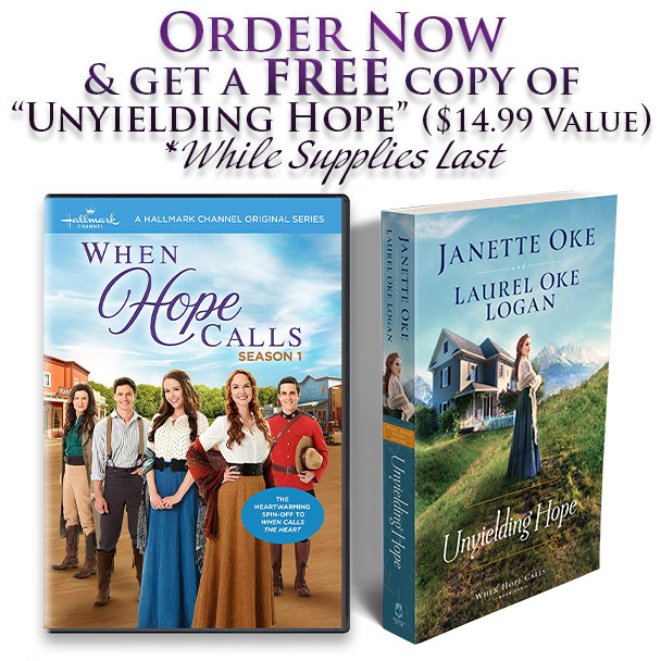 """Order now and get the free book """"Unyielding Hope"""""""