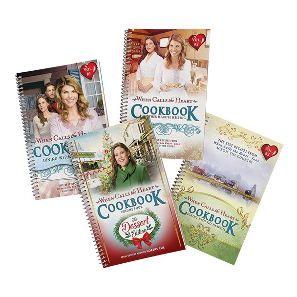 All four Cookbook volumes