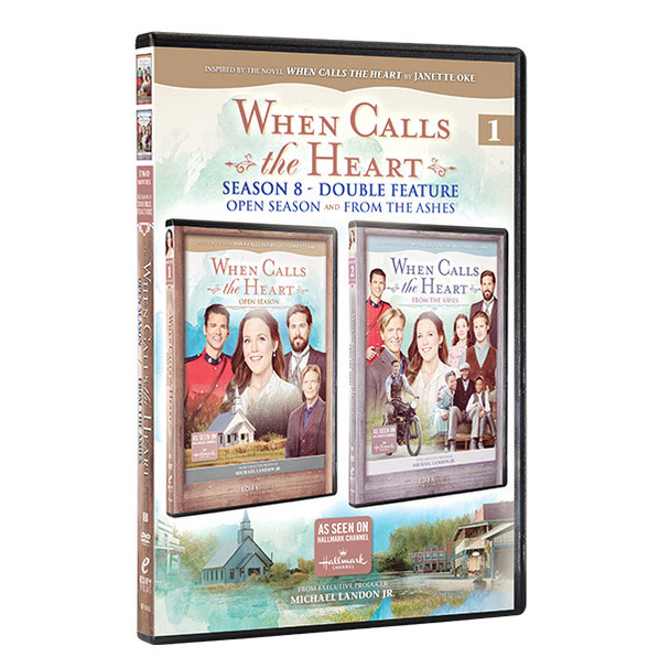 Season 8 - Double Feature (movie 1 and 2) - Front cover with spine