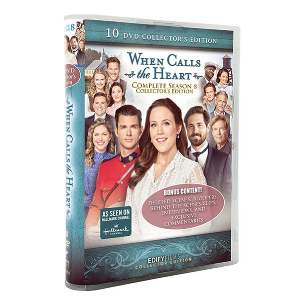 The Season 8 Collector's Edition DVD Box Set  - 3D Cover