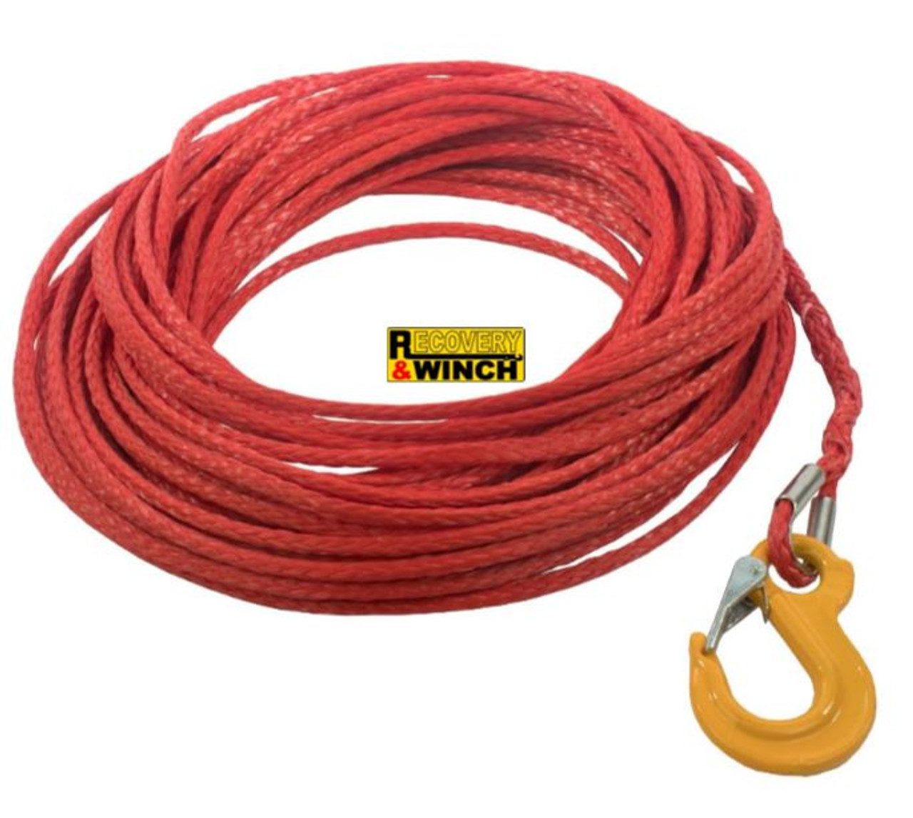 ARMORTEK SYNTHETIC ROPE WITH SAFETY HOOK 6MM X 15M