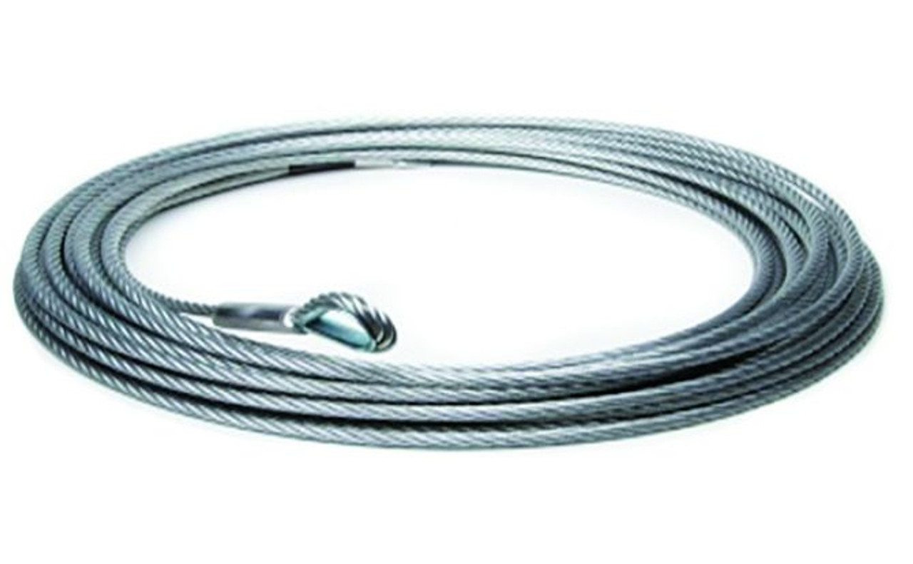 WIRE WINCH ROPE 9.5MM X 30M WITH THIMBLE