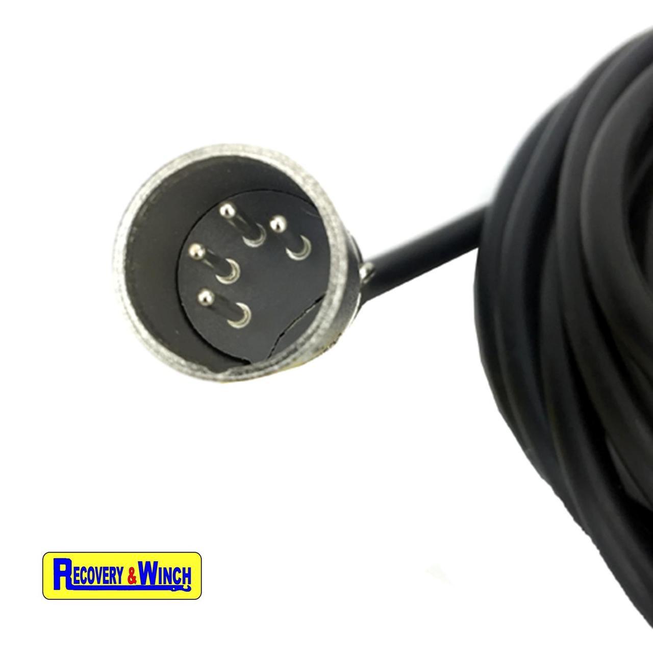 Warrior Ninja 2000 Electric Winch Wanderlead Plug