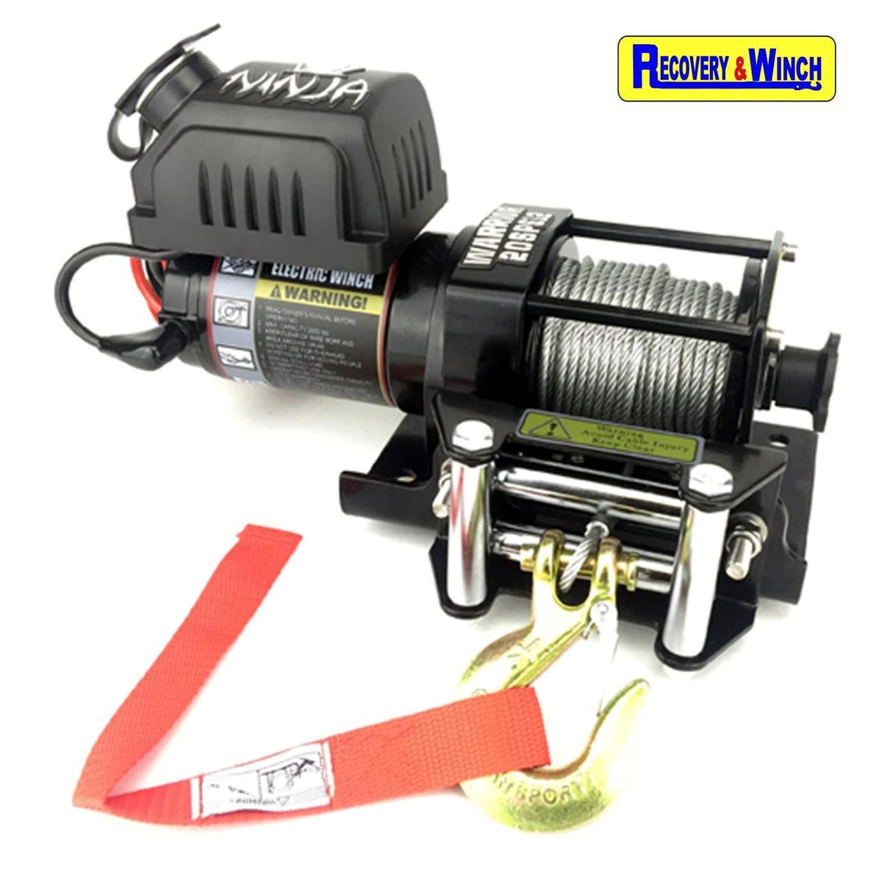 Warrior Ninja 2000 Electric Winch