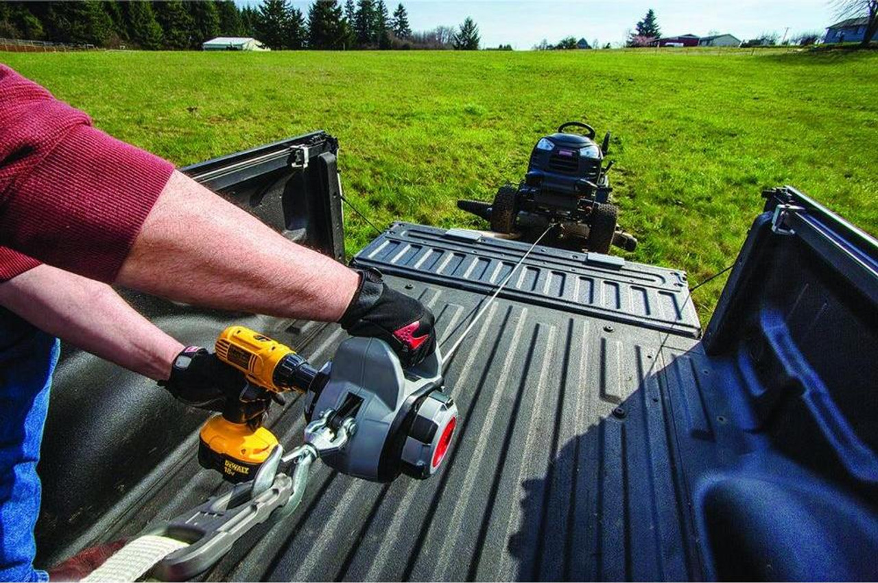 WARN ELECTRIC DRILL POWERED WINCH 750LB - 340KG CAPACITY