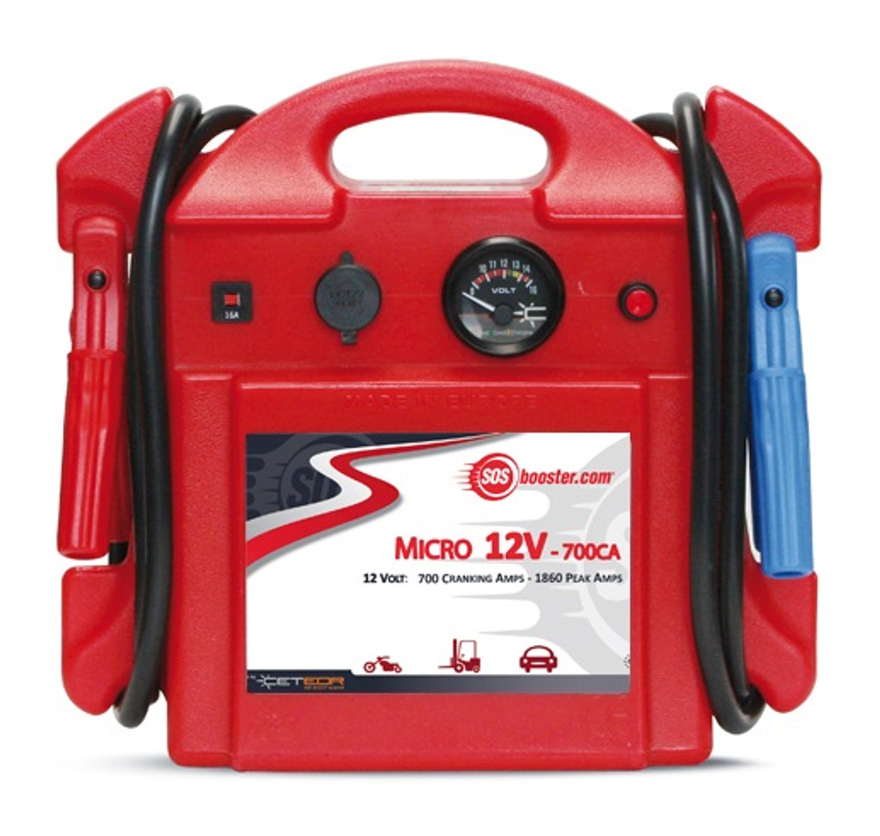 SOS BOOSTER PACK MICRO 700CA 12v