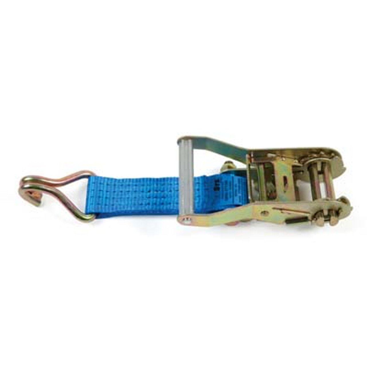 WIDE HANDLE RATCHET WITH 150mm STRAP AND CLAW HOOK