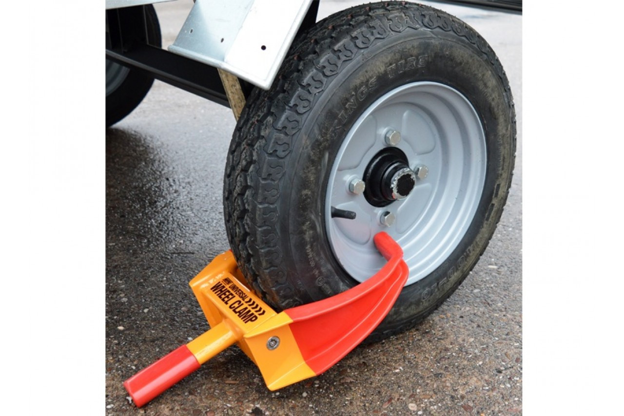 WHEELCLAMP - 175-255mm TYRE WIDTH