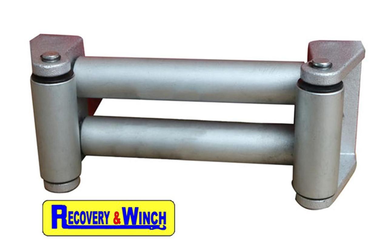 Warrior RV8000 hydraulic winch heavy duty roller fairlead included.
