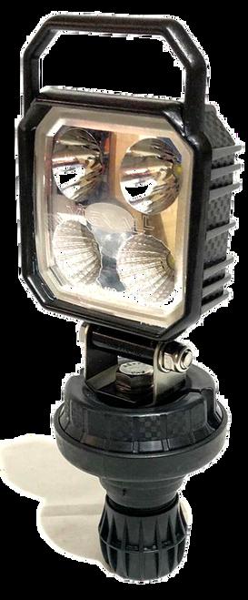 Vignal Carbonlux LED Din Pole Work Lamp, 10-30V, 1000lm