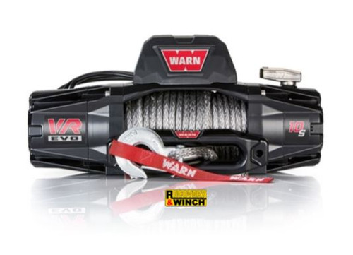WARN VR EVO 10 12V SYN ROPE WINCH WITH WIRELESS