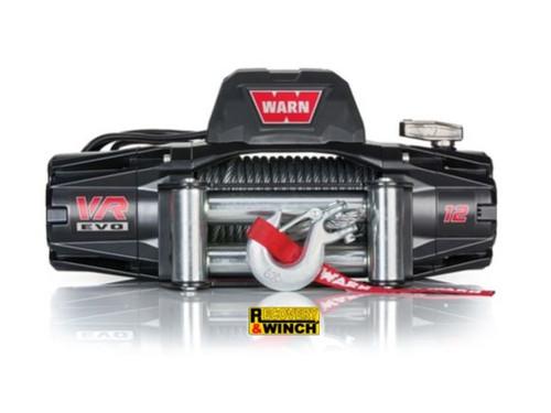 WARN VR EVO 12 12V STEEL ROPE WINCH WITH WIRELESS