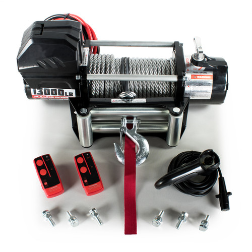 ST BLACK EDITION ELECTRIC WINCH