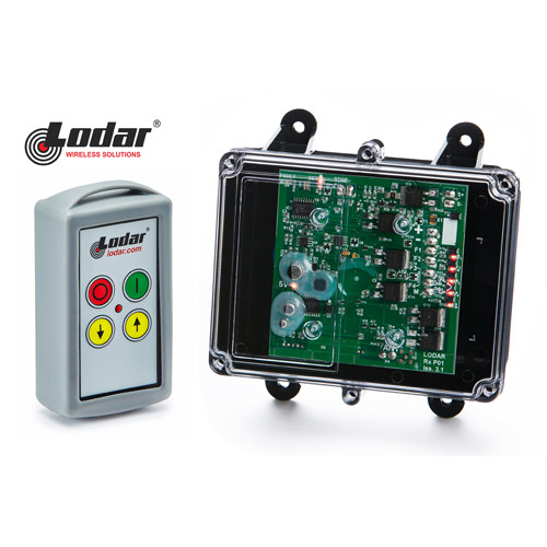 Lodar 2 function wireless remote control system