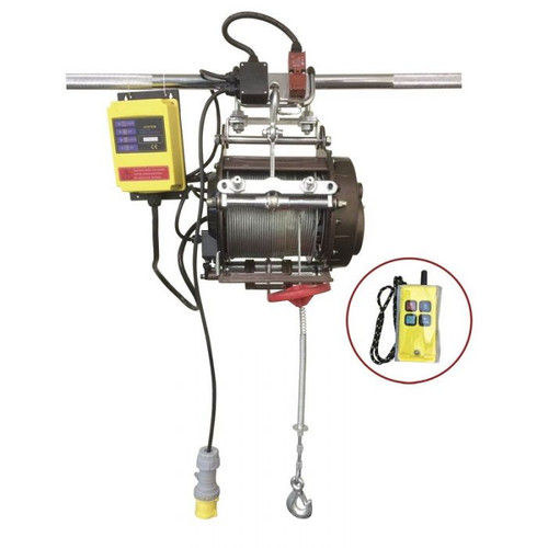 WARRIOR SCAFFOLD HOIST 240V 800KG WITH WIRELESS CONTROL
