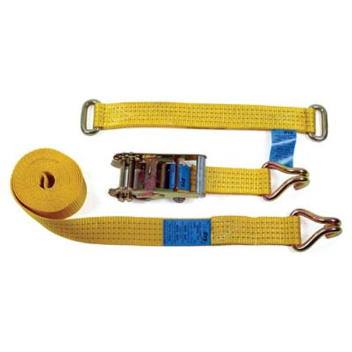 50mm TRANSPORTER WHEEL STRAP ASSEMBLY WITH METAL EYE CHOKER