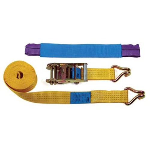 50mm TRANSPORTER WHEEL STRAP ASSEMBLY WITH SOFT EYE CHOKER