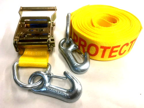 Fall protection strap