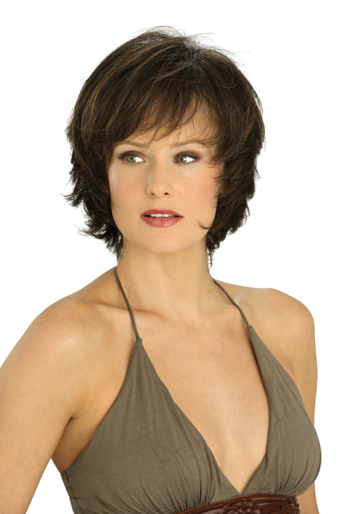 Louis Ferre NYC 57  Monosystem Lace Front Wig front view