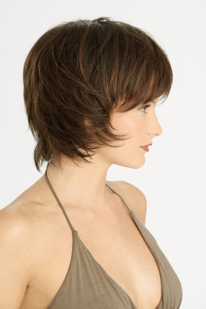Louis Ferre NYC 57  Monosystem Lace Front Wig side view