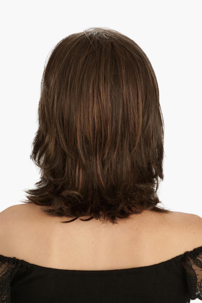 Louis Ferre Broadway Gala  Monosystem Lace Front Wig back view