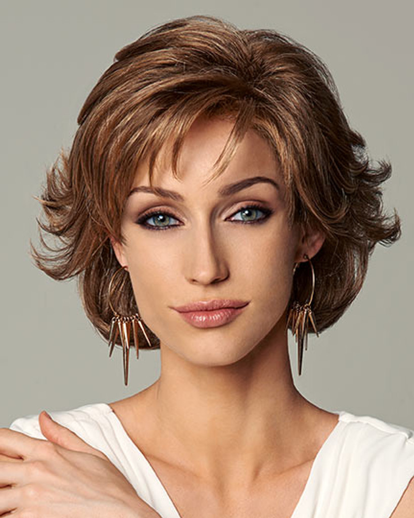 Everyday Elegant Synthetic Hair by Gabor Wigs front 2