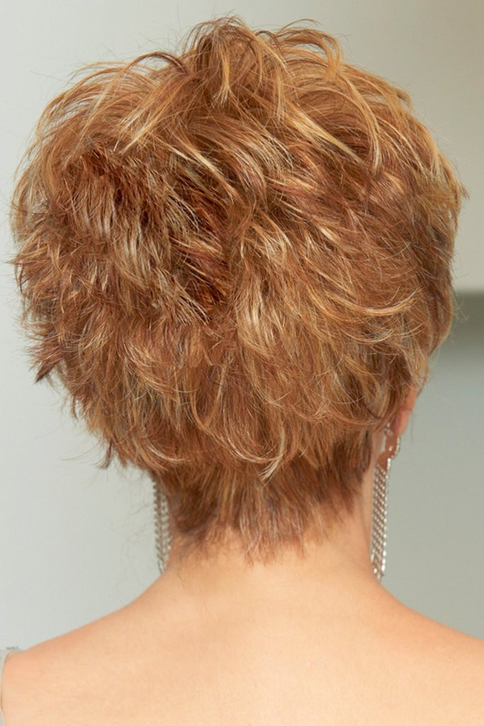 Sparkle Elite by Raquel Welch Wigs Back View