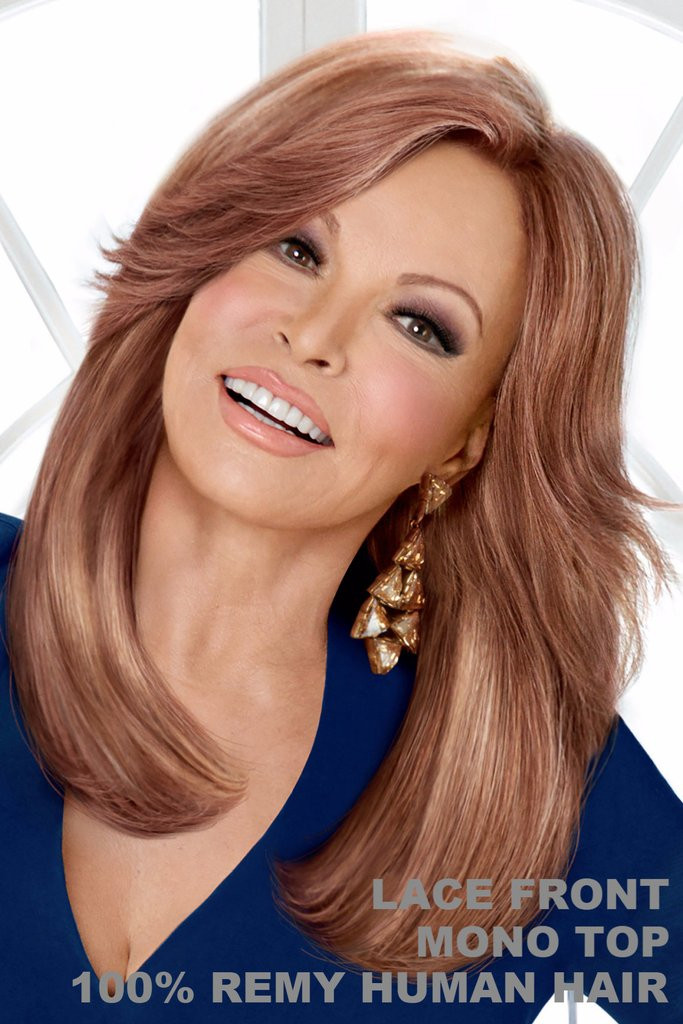 High Fashion Raquel Welch Wigs Front View