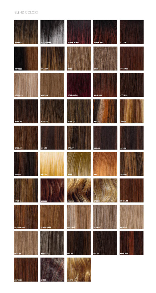 sepia color chart 2