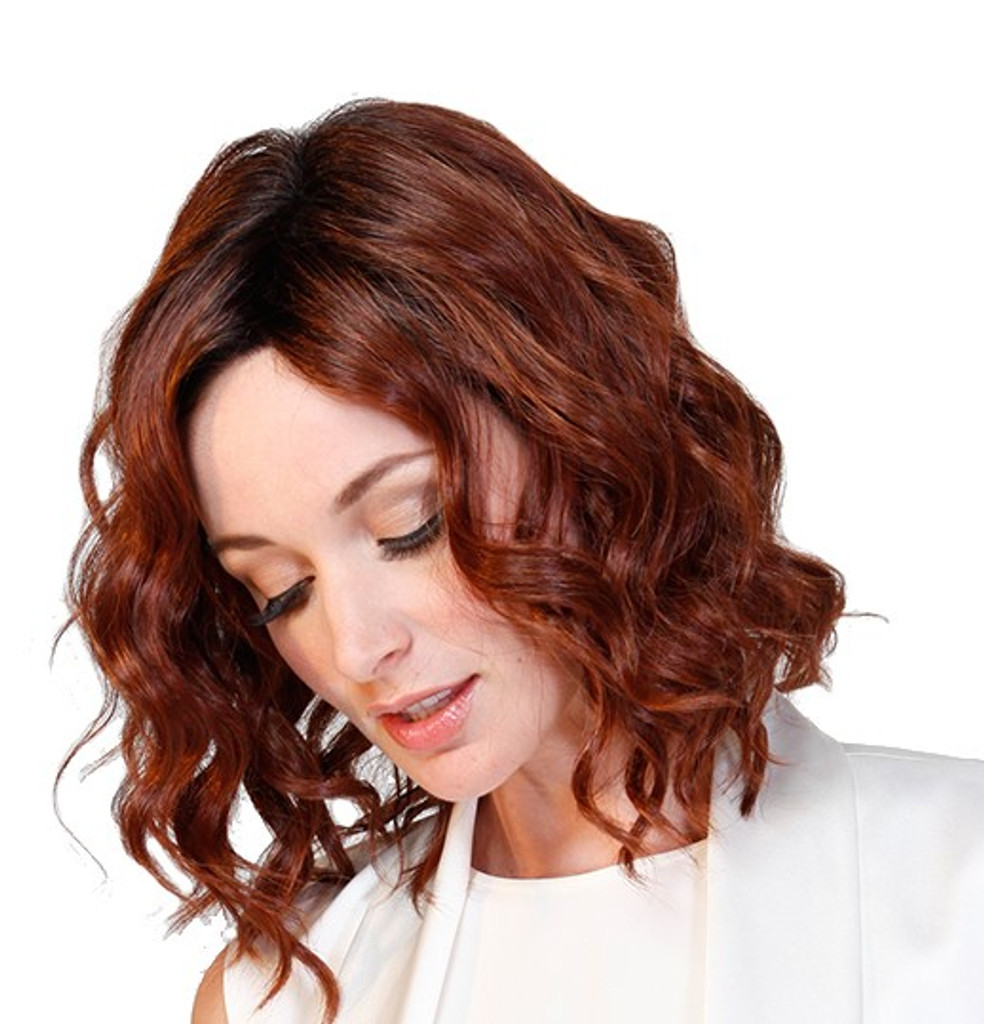 Biscotti Babe - Belle Tress - monofilament lace front side