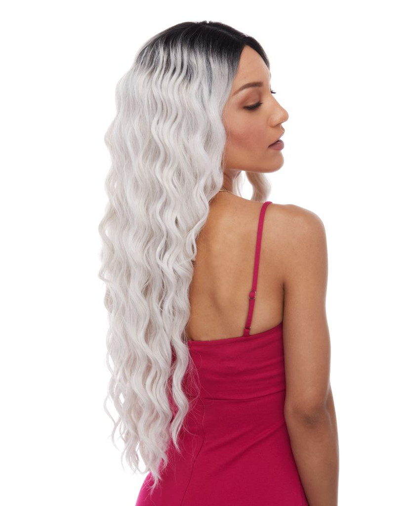 Celestial | Sepia Wigs | Lace Front side view