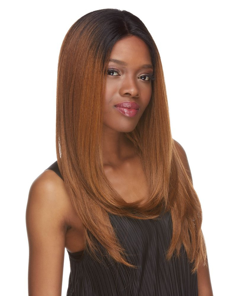 Evelyn | Sepia | Lace Front  | front view 2