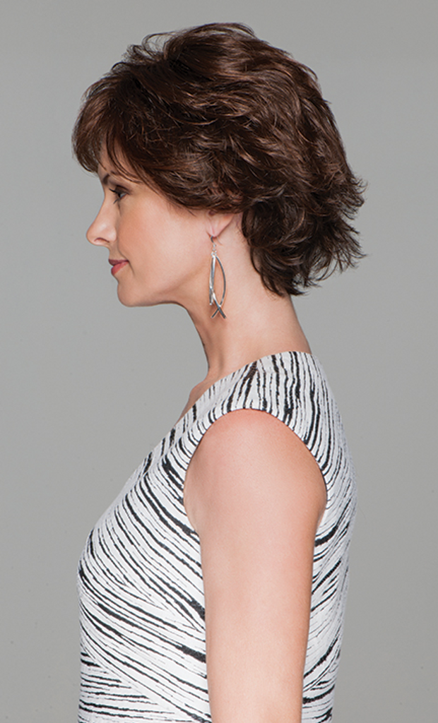 gabor synthetic wig Cart Blanche Side view