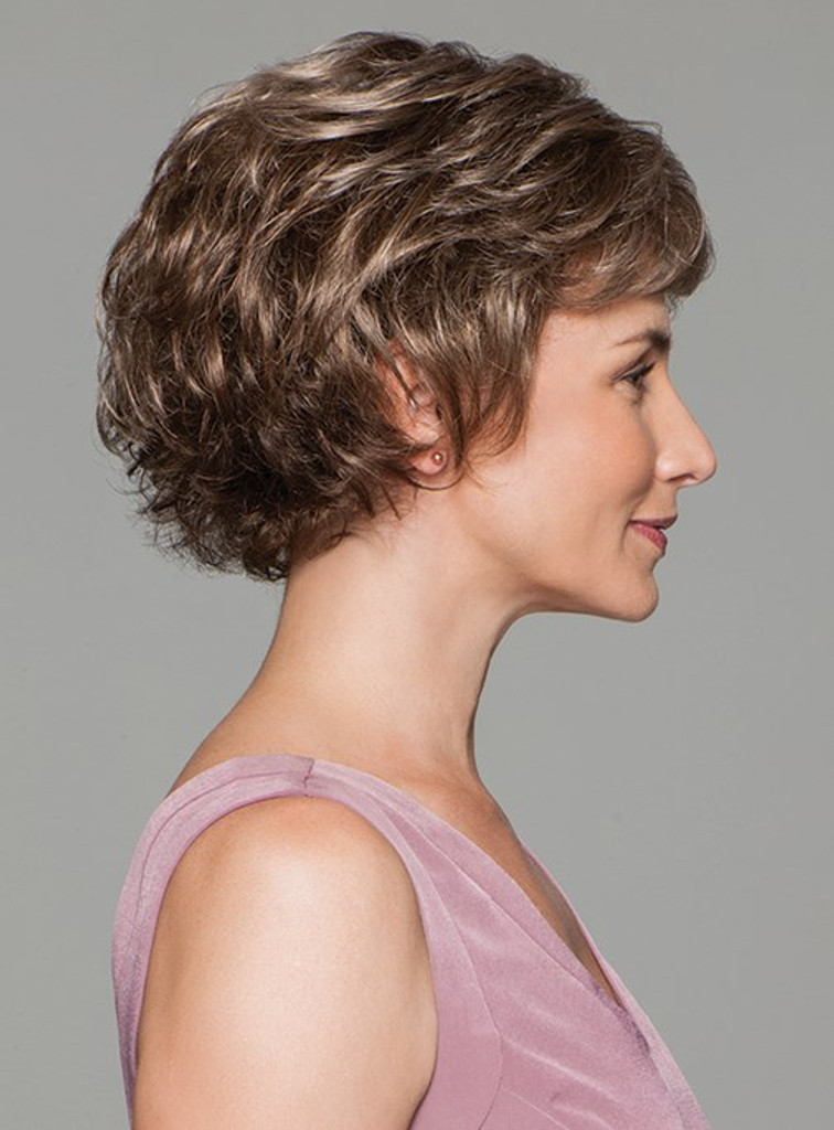 gabor synthetic wig Commitment side view