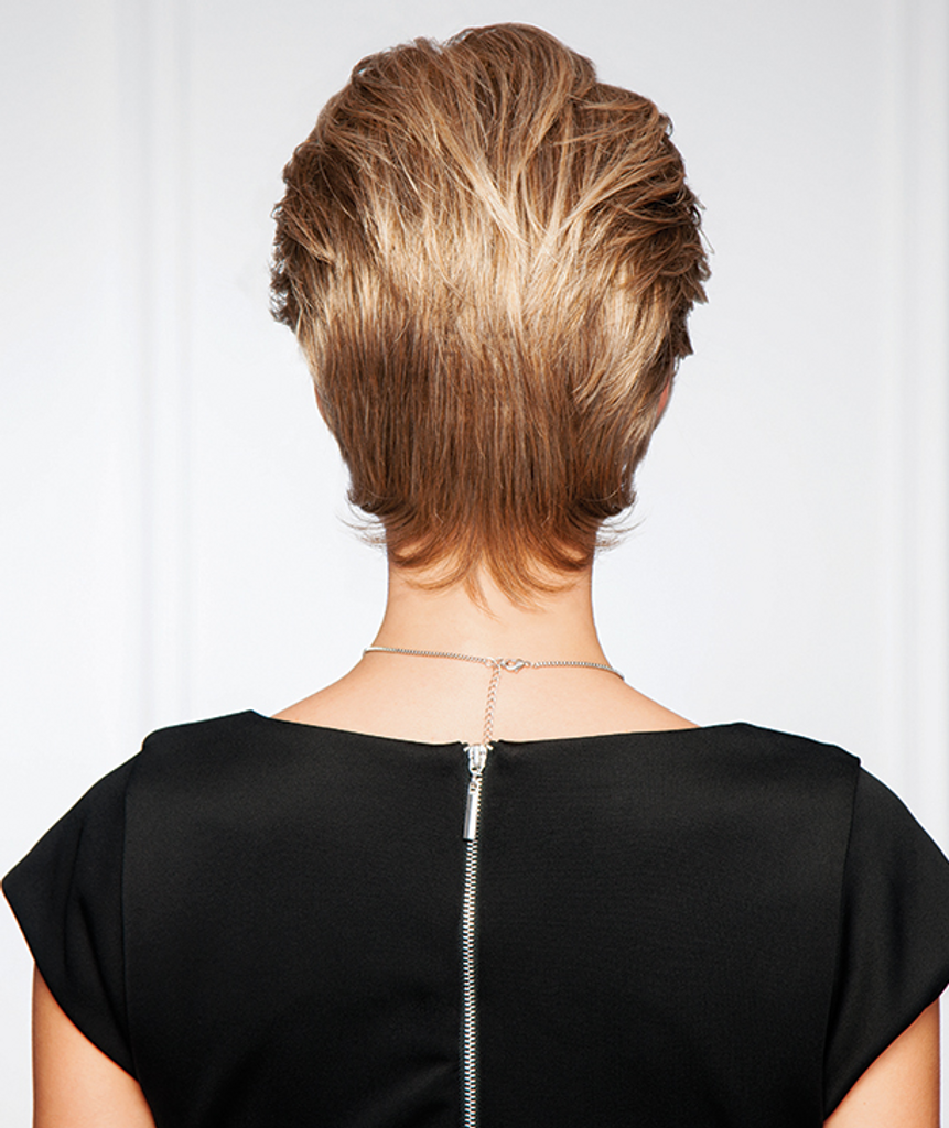 gabor synthetic wig upscale back  view