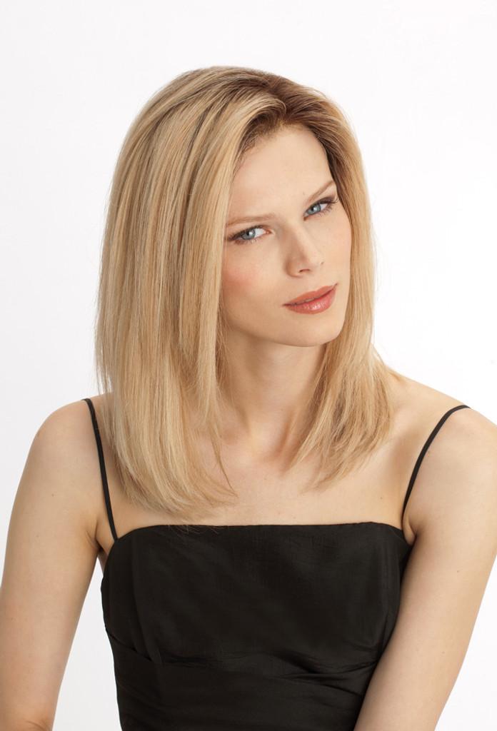 Louis Ferre PLF001HM Platinum Lace Front Human Hair Wig