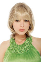 Estetica hair dynasty human hair wigs Chanel_Front View