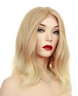 Beach Wavy Cut Wig | Heat Ok | Color T27.613 | Medium Length  -4